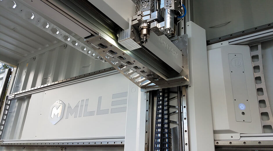 3d-drucker millebot mille le 3d printer