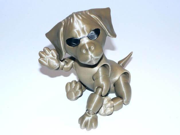 3d-modell hund 3d model dog
