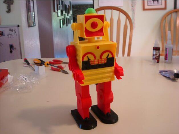 3d-modell roboter 3d model robot