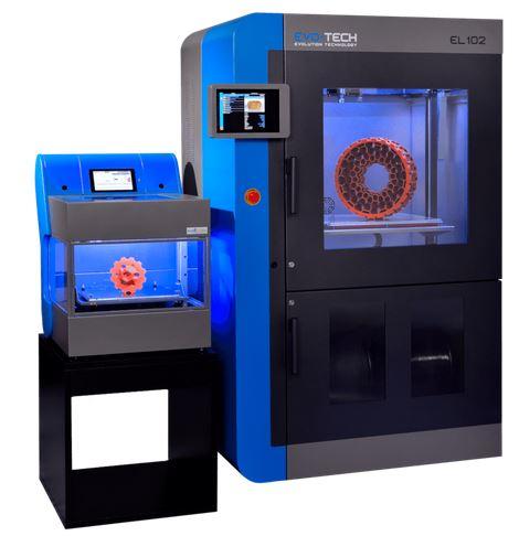 3d-drucker evotech el 102 3d printer