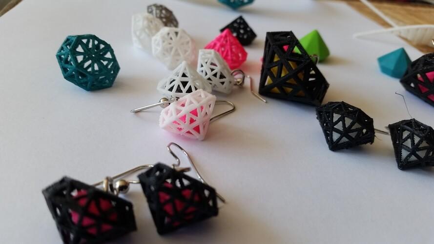 3d-gedruckte diamanten 3d printed diamonds