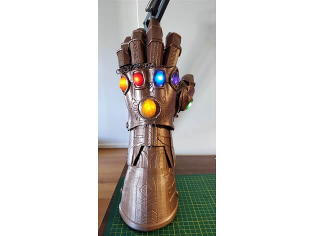 3d-model thanos handschuh 3d model gauntlet