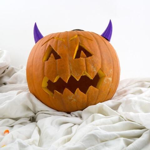 3d-modell kürbis teufel 3d model pumpkin devil