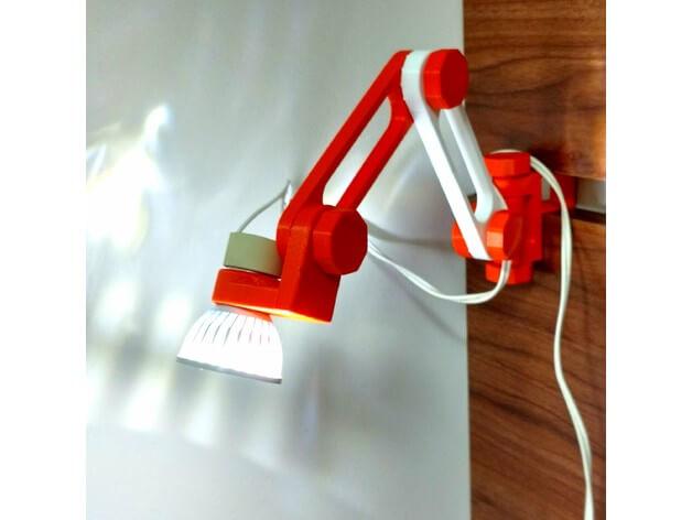 3d-modell led lampe 3d model led lamp