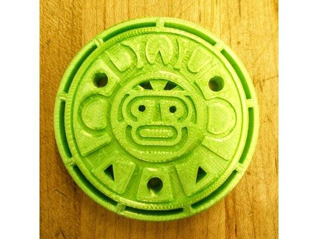3d-modell maker coin 3d model