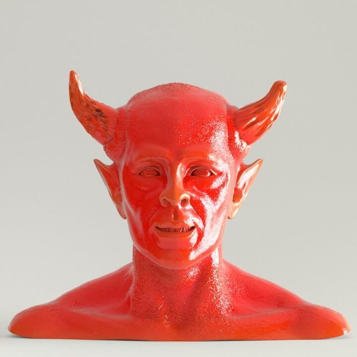 3d-modell teufel 3d model devil