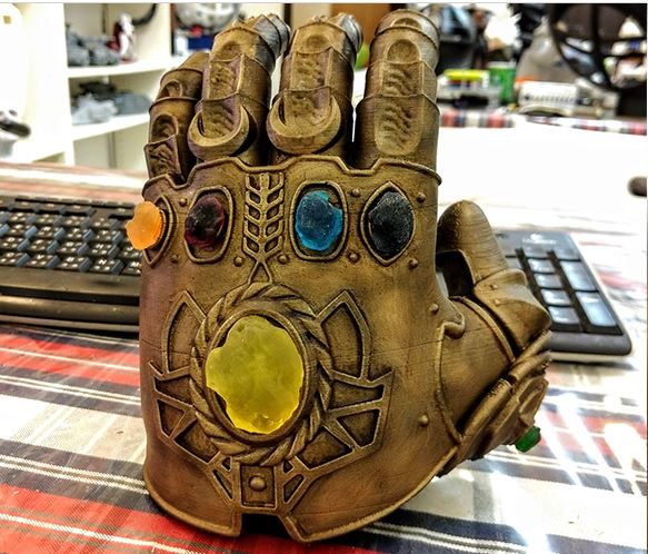 3d-modell thanos handschuh 3d model gauntlet