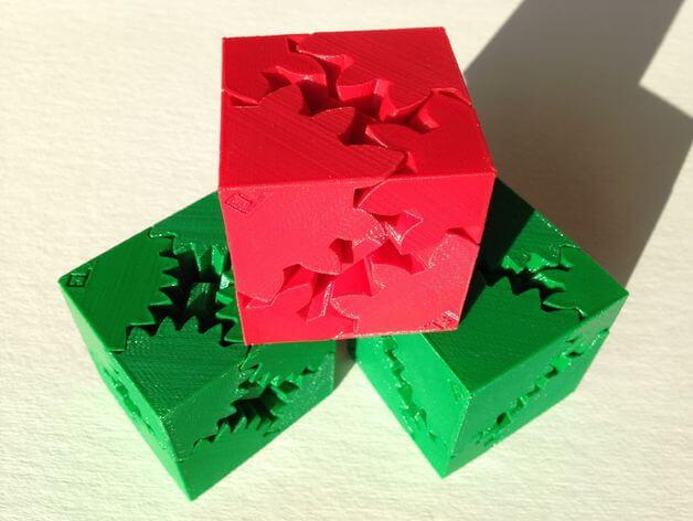 3d-modell würfel 3d model cube