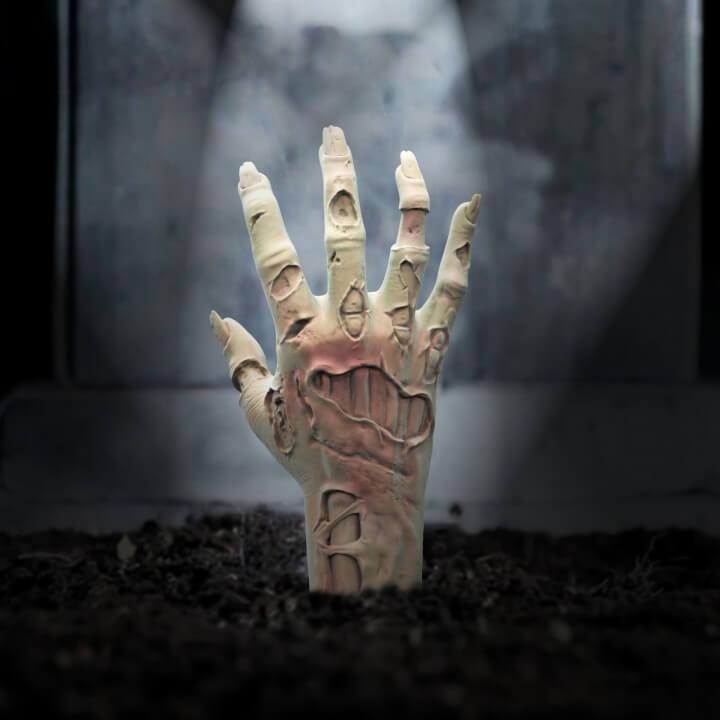 3d-modell zombie hand 3d model