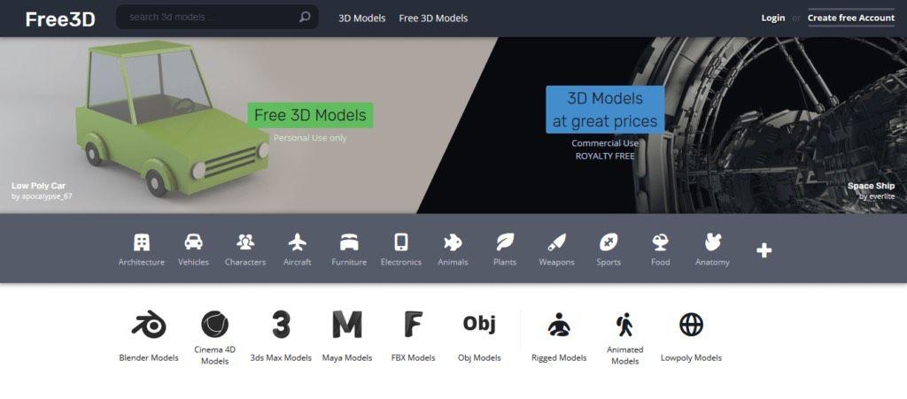free 3d 3d-models print