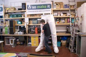 grössten 3d-gedruckten beine tallest 3d printed legs james bruton