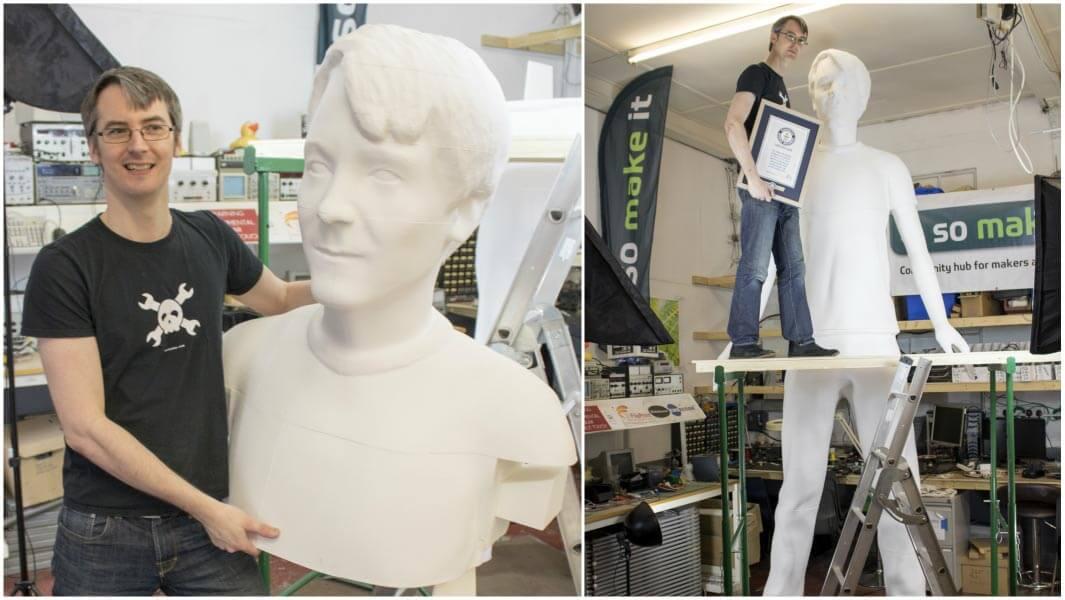 grösste 3d-gedruckte menschen figur tallest 3d printed human sculpture james bruton