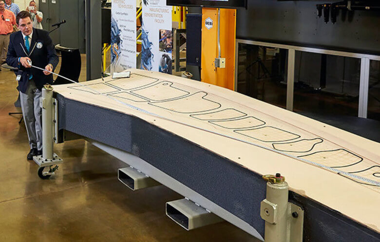 groesstes 3d-gedrucktes teil largest solid 3d printed object boeing