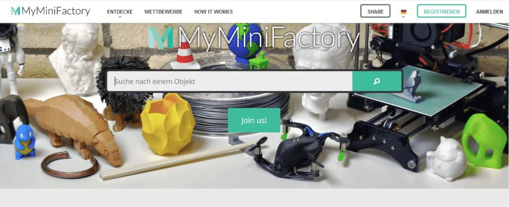 myminifactory 3d printable designs