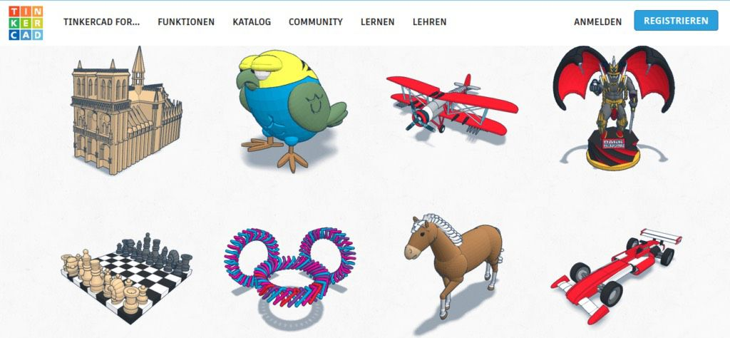 tinkercad 3d-printer models