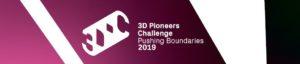 3D Pioneers Challenge Banner 2019