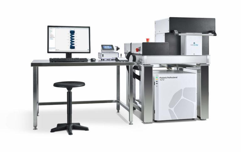 3d-drucker photonic professional gt2 nanoscribe 3d printer