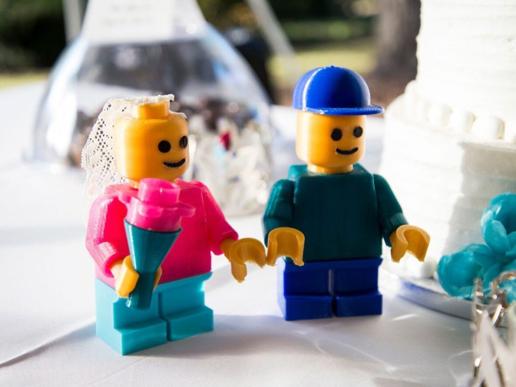 3d-gedruckte lego figuren 3d printed lego figurines Erin Winick mark pariani