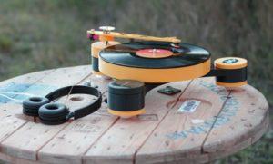 3d-gedruckter schallplattenspieler 3d printed record player