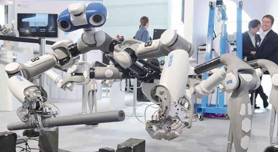 roboter robot deutsche messe ag