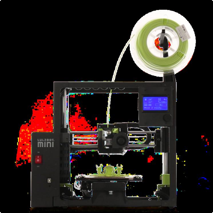 3d-drucker lulzbot mini 2 3d printer