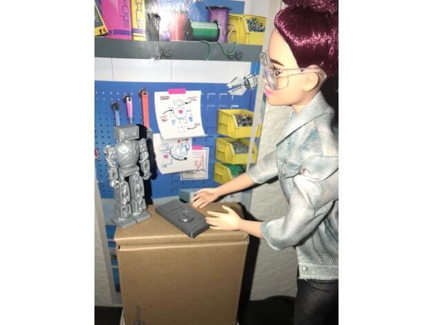 3d-modell-barbie-fernbedienung-controler-3d-model