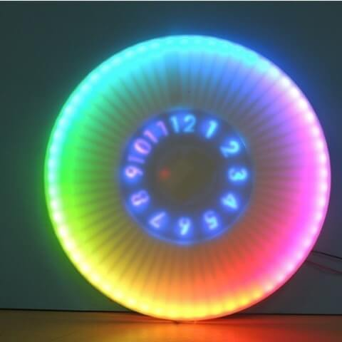 3d-modell animierte uhr 3d model animated clock maker thetnr